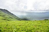 Beautiful View over the Mountains of Nyika Plateau, Malawi, Africa