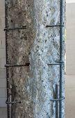 Concrete structure deteriorated