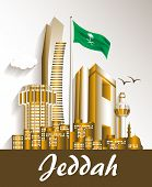 City of Jeddah Saudi Arabia Famous Buildings