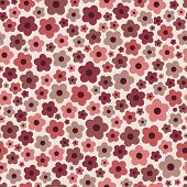 pattern with flowers