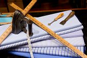 picture of tailoring  - Still Life of Tailor - JPG