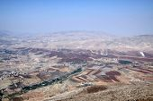 View Of The Valley Tirza  From Mount Kabir, Israel