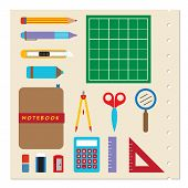 School Stationery Supplies.