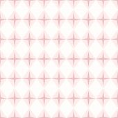 Geometrical Seamless Pattern With Rhombuses