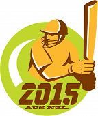 Cricket 2015 Australia New Zealand Circle