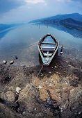 Boat At Pokhara Lake