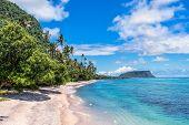 Beautiful landscape of Tropical Beach