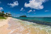 Tropical Beach in Western Samoa