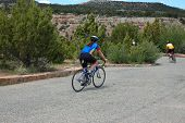 Cycllists In Colorado National Monument poster