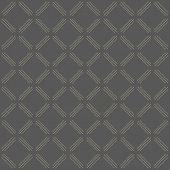Geometric Modern Vector Seamless Pattern with Golden Dots