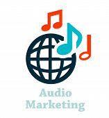 audio marketing icon