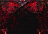 abstract red devil texture