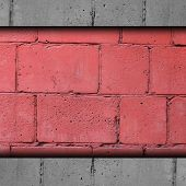 background red, brick, block wall grunge fabric abstract stone t