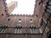 Architecture in Siena, Italy