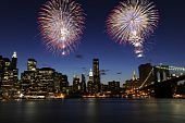 Downtown Manhattan Fireworks