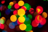 Abstract Backgrounds - Defocused Luminous Colored Objects