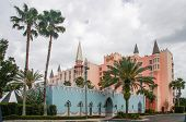 Orlando, Fl, Usa - March 10, 2008: Castle Hotel On International Drive In Orlando, Usa On March 10,