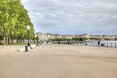 Bordeaux. Embankment Of The River Garonne