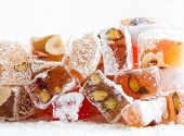 foto of eastern culture  - Tasty oriental sweets  - JPG