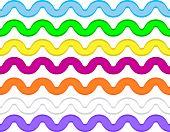 Ric Rac in 7 Colors