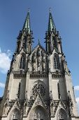 Saint Wenceslas Cathedral in Olomouc, Czech Republic.