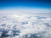 Aerial Cloudscape In Stratosphere