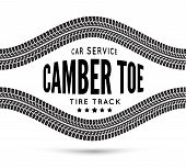picture of toe  - Camber and toe - JPG