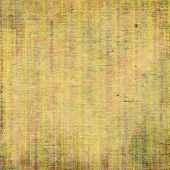 Antique grunge background with space for text or image. With different color patterns: yellow (beige); brown; gray; green