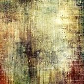 Old antique texture or background. With different color patterns: yellow (beige); brown; gray; green