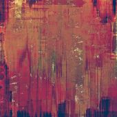 Weathered and distressed grunge background with different color patterns: blue; brown; purple (violet); pink