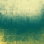 Grunge aging texture, art background. With different color patterns: yellow (beige); gray; green; cyan