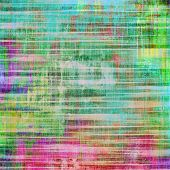 Vintage texture. With different color patterns: blue; green; purple (violet); cyan; pink