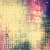 Old abstract grunge background, aged retro texture. With different color patterns: yellow (beige); blue; purple (violet); pink