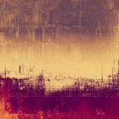 Abstract old background with rough grunge texture. With different color patterns: red (orange); yellow (beige); gray; purple (violet); pink