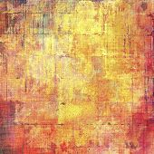 Grunge texture, may be used as retro-style background. With different color patterns: red (orange); yellow (beige); brown; pink