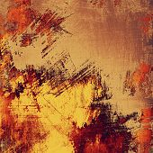 Old ancient texture, may be used as abstract grunge background. With different color patterns: red (orange); yellow (beige); brown; purple (violet)