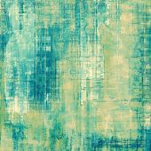 Abstract distressed grunge background. With different color patterns: yellow (beige); blue; gray; green; cyan