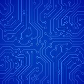 Vector circuit board or microchip.