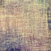 Old grunge background with delicate abstract texture and different color patterns: yellow (beige); brown; gray; purple (violet)