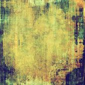 Art grunge vintage textured background. With different color patterns: yellow (beige); blue; brown; green