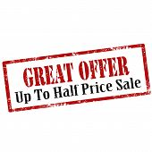 Great Offer-stamp