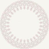 Damask Vector Pattern. Orient Ornament