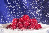 Raspberries In The Rain