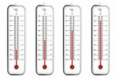 Indoor Thermometers In Celsius Scale