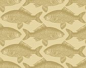seamless fish pattern (vector)