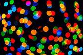 Multicolored Colorful Bokeh