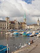 Zurich In Late Autumn