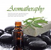image of essential oil  - Aromatherapy - JPG