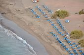 image of atlantic ocean beach  - Dry Lava Coast Beach in the Atlantic Ocean - JPG