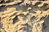 picture of volcanic  - Volcanic Rock Basaltic Formation in Canary Islands  - JPG